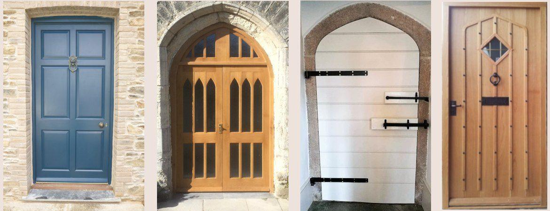 Banner Slide of 4 types of doors