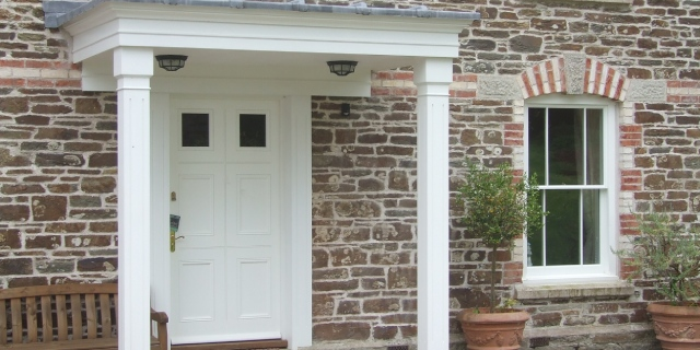 Picture of bespoke front door
