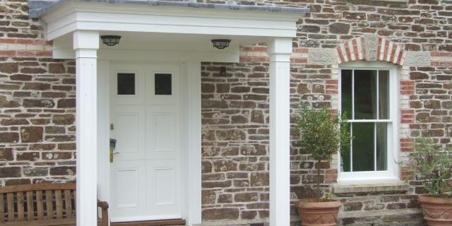 Picture of bespoke front door