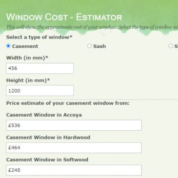 NEW – Estimate the cost of your replacement window here!