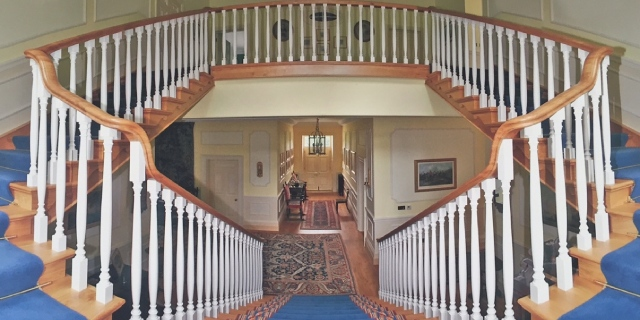 Photo of grand staircase