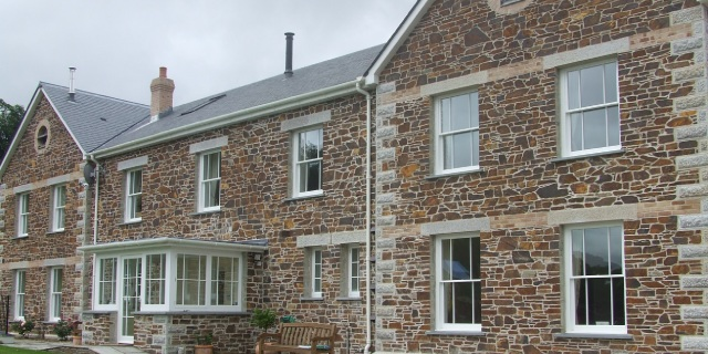 Photo of sash windows