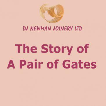 A pair of gates