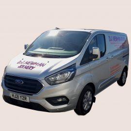 Photo of new Ford Transit Van