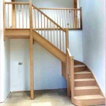 European Oak Staircase